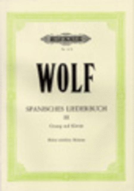 Spanisches Liederbuch III