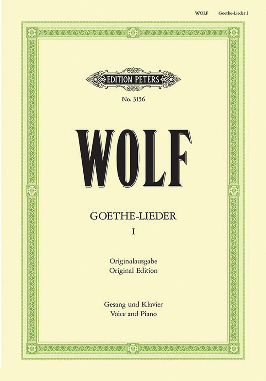 Goethe-Lieder: 51 Songs Vol. 1
