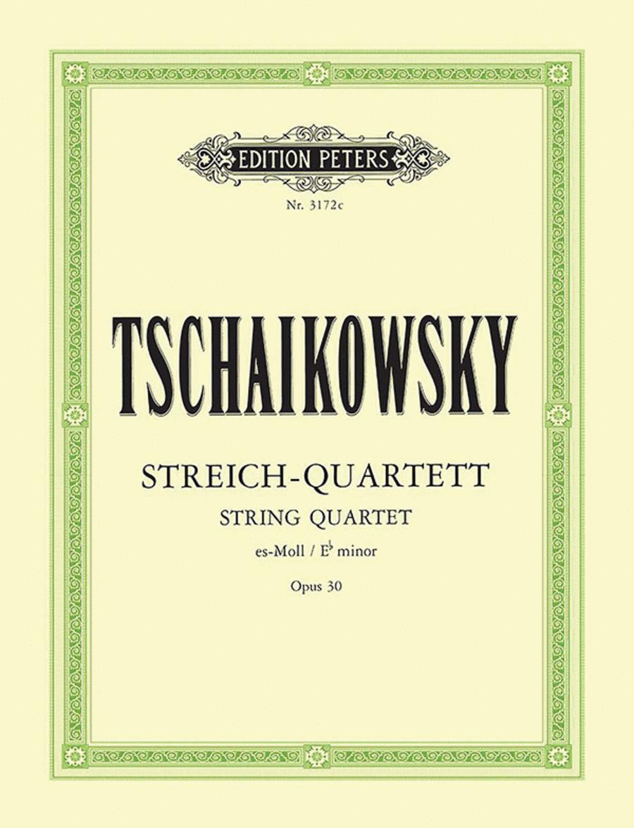 String Quartet No. 3 in E flat minor Op. 30