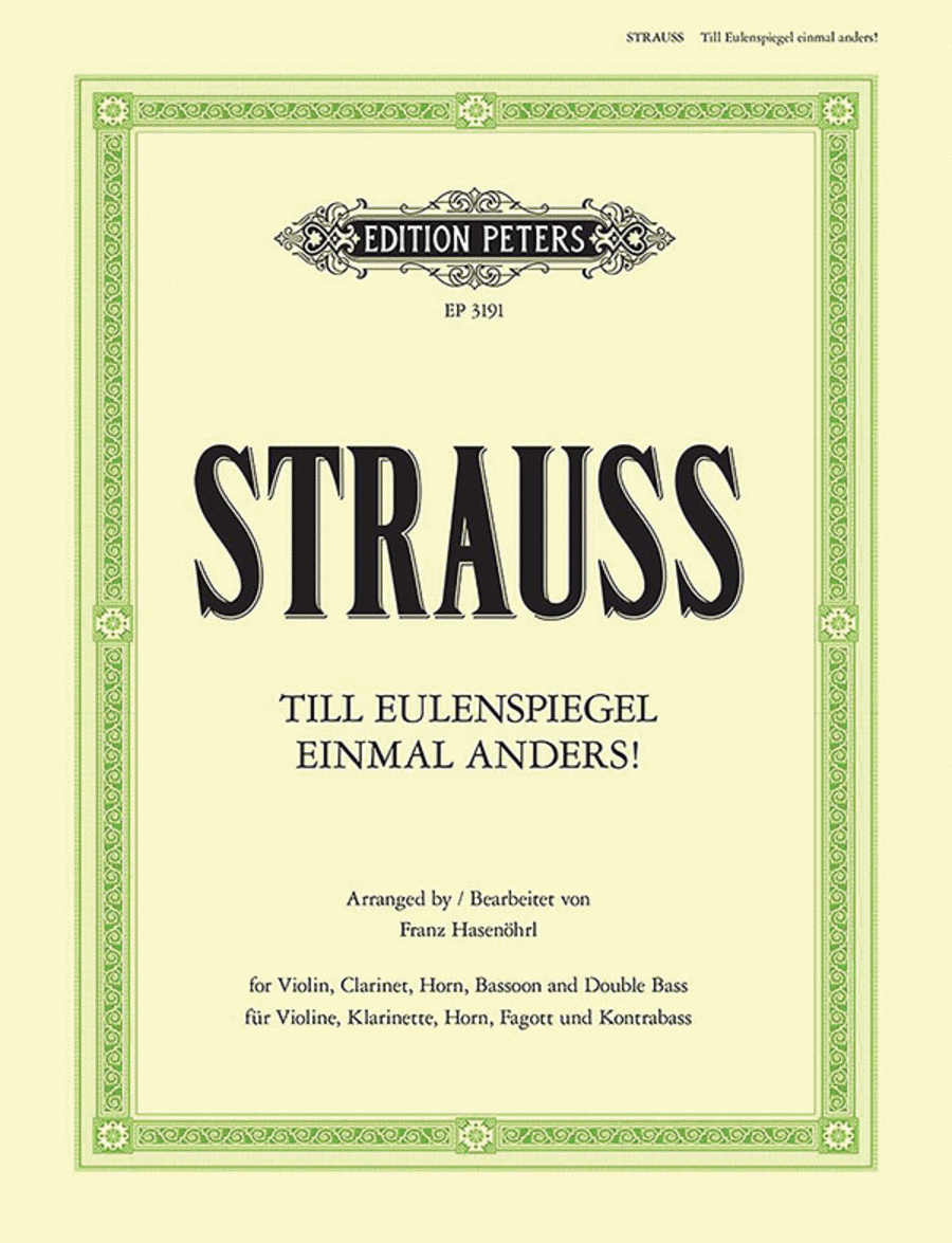 Till Eulenspiegel einmal anders!, Op. 28
