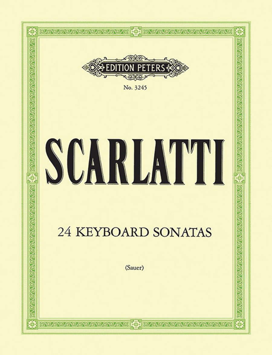 24 Sonatas in progressive order