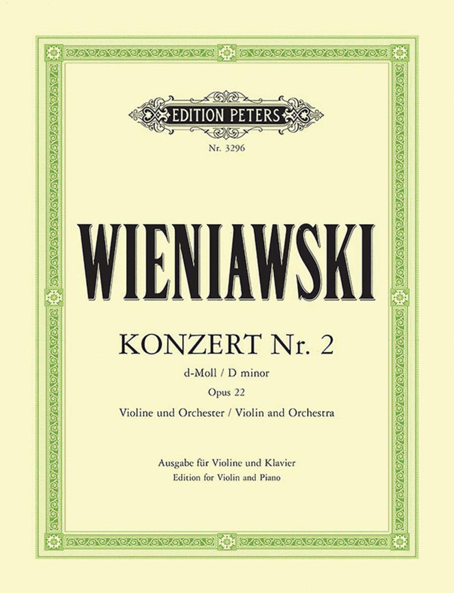 Concerto No. 2 in d minor Op. 22