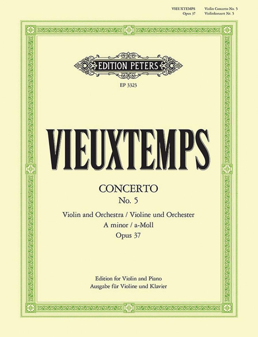 Concerto No. 5 in a minor Op. 37
