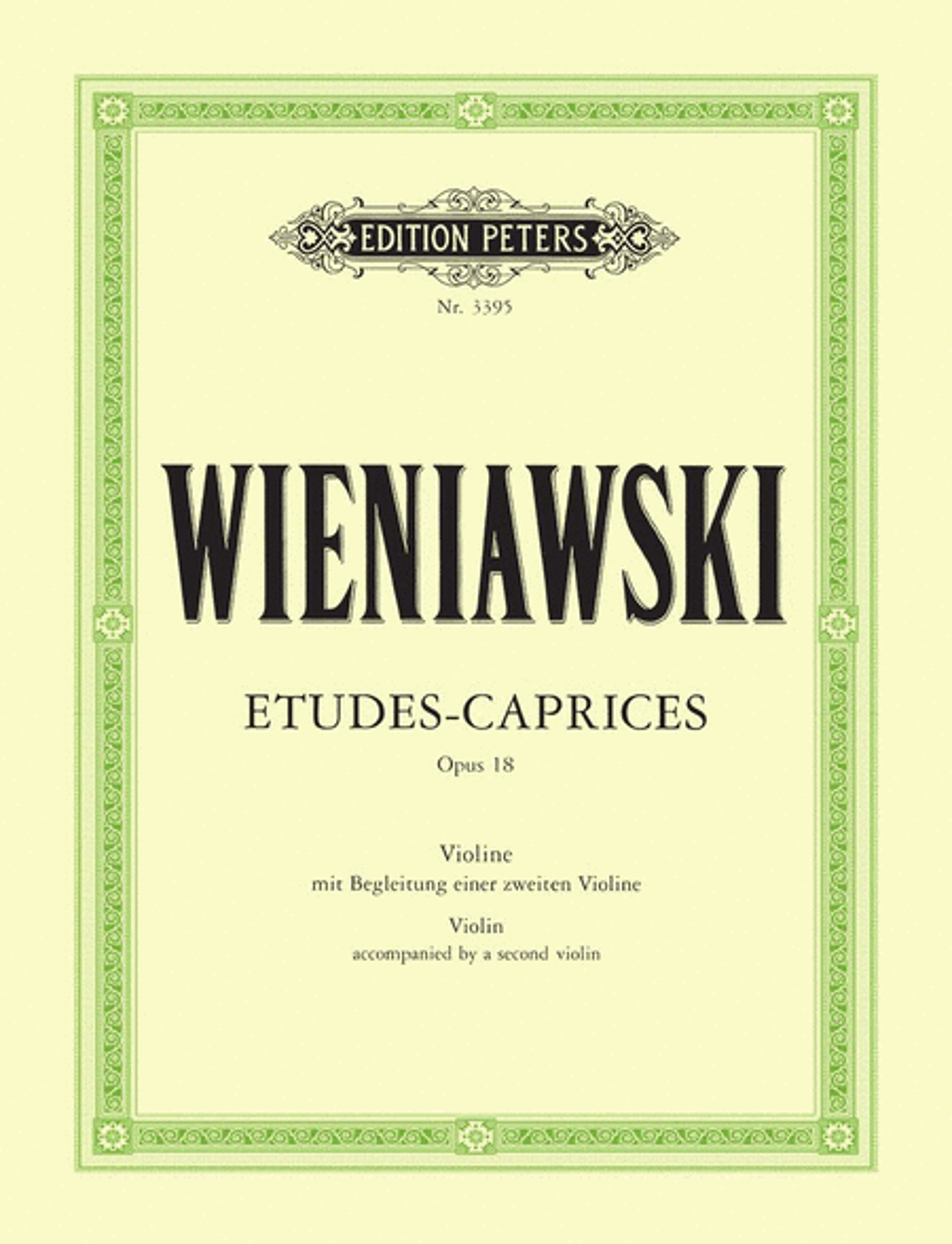 Etudes Caprices Op.18
