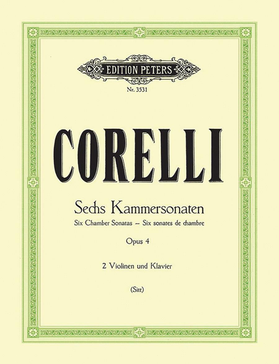 Sonate da camera Op. 4 Nos. 1-6