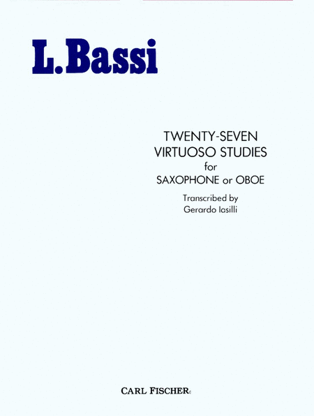 Twenty-Seven Virtuoso Studies