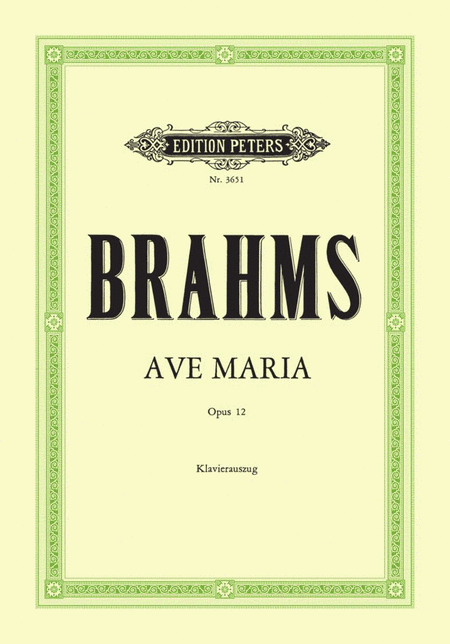 Ave Maria Op. 12