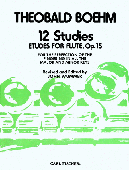 12 Studies (Etudes) for Flute, Op. 15