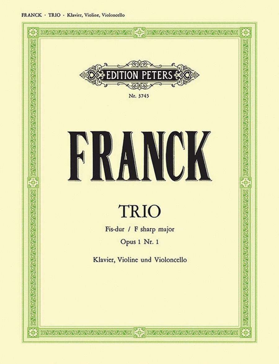 Trio in F# Op. 1 No. 1