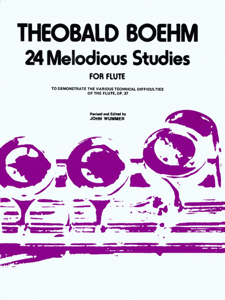 24 Melodious Studies, Op. 37