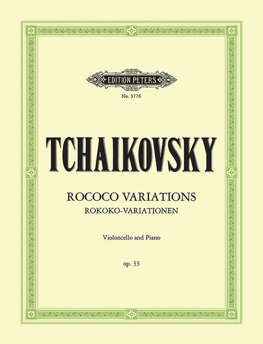 Rococo Variations Op. 33