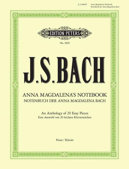 Notebook of Anna Magdalena Bach