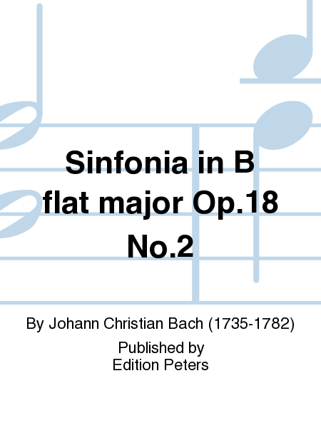 Sinfonia in B flat major Op.18 No.2