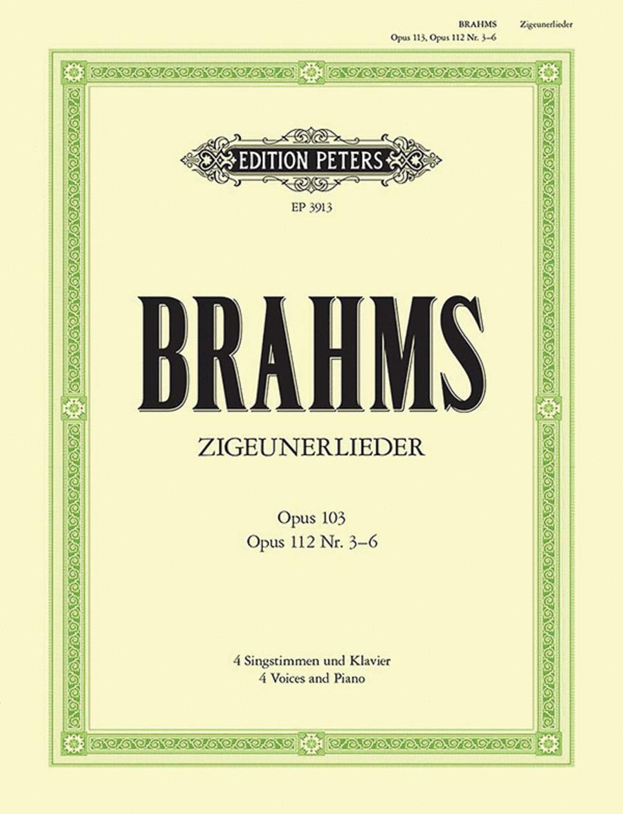 Zigeunerlieder Op. 103/112