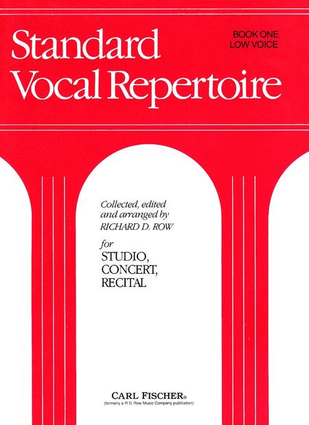 Standard Vocal Repertoire-Bk. 1-Low Voice