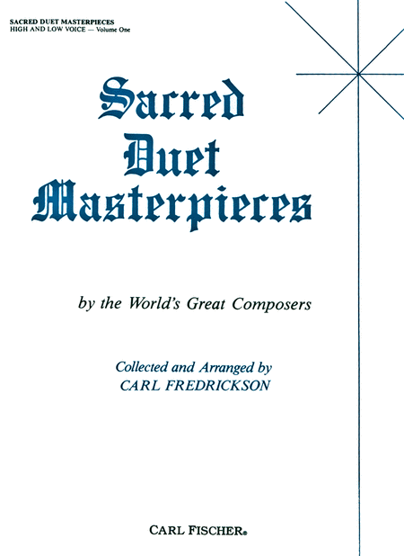 Sacred Duet Masterpieces-Vol. 1-High/Low Voice