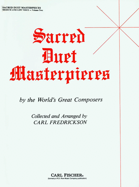 Sacred Duet Masterpieces-Vol. 2-Med/Low Voice