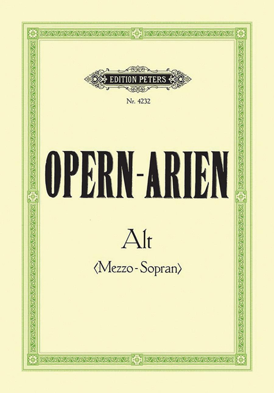 Opera Arias for Contralto/Mezzo-Soprano