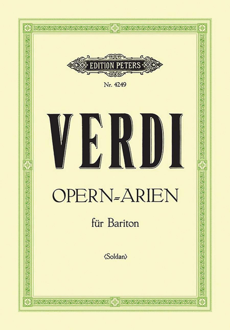 Selected Opera Arias for Baritone