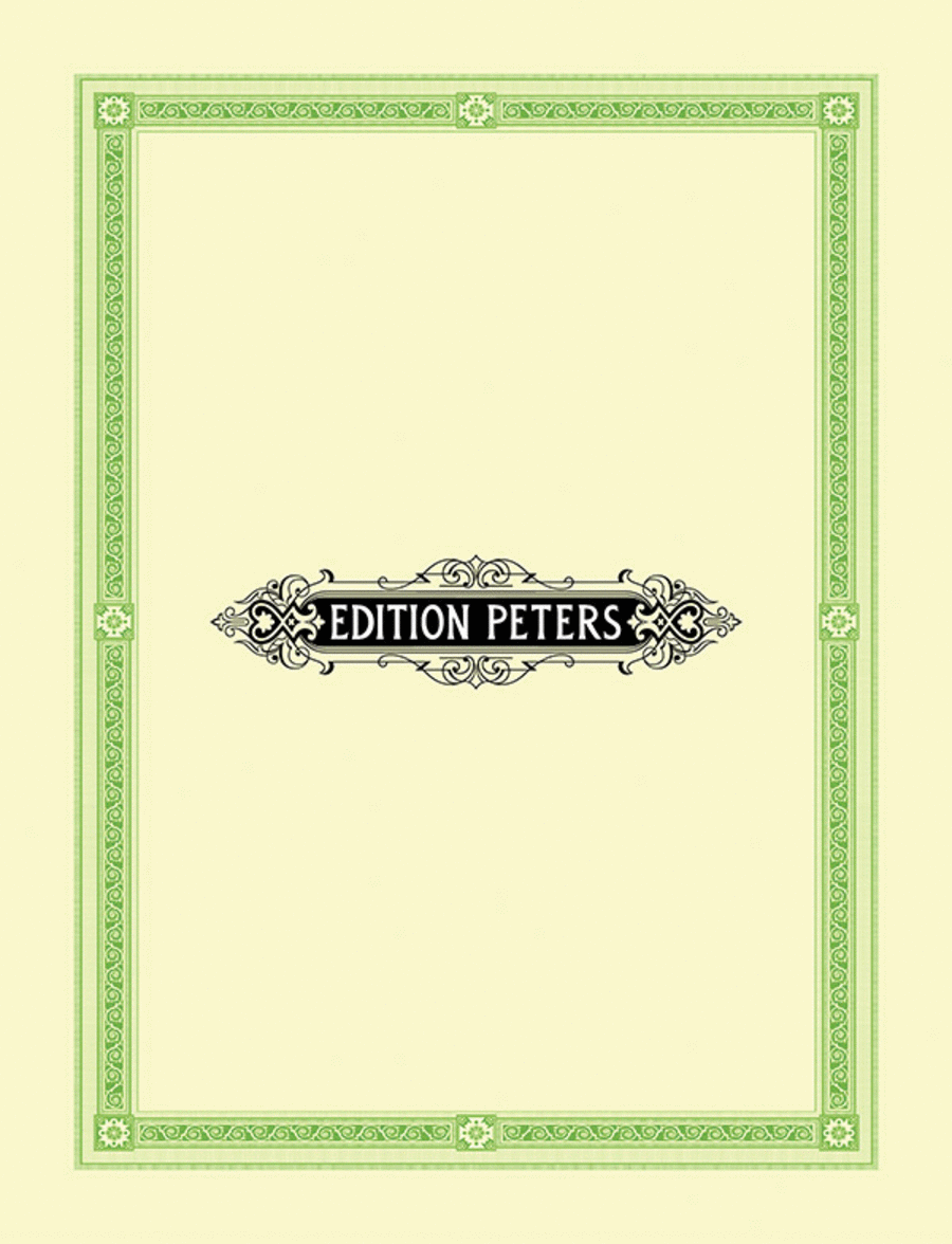 Te Deum - No.4 Of 4 Sacred Pieces