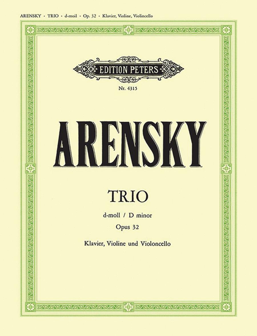 Trio, Op. 32 in D Minor