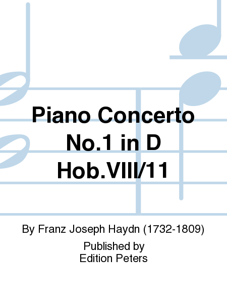 Piano Concerto No. 1 in D Hob.VIII/11