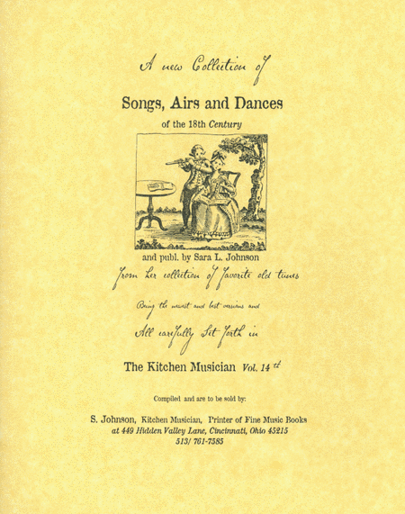 Songs, Airs & Dances of the 18th century