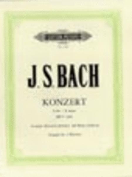 Keyboard Concerto in E Major BWV 1053