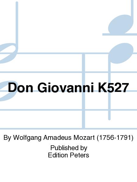 Don Giovanni (Il dissoluto punito) K527