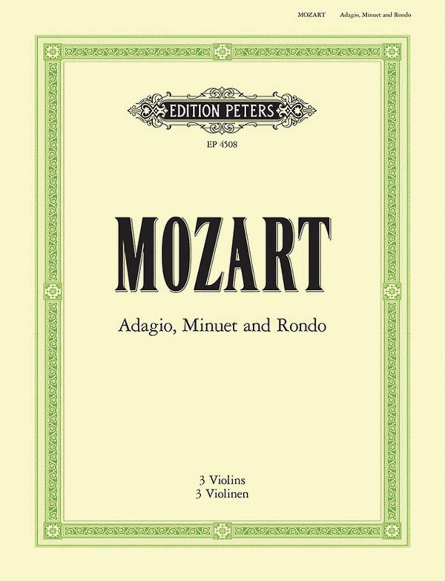 Adagio Minuet and Rondo K356
