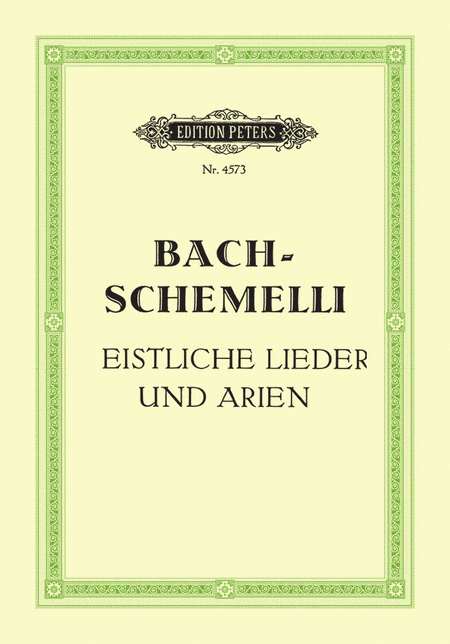 Schemelli Song Book (Leipzig 1736)