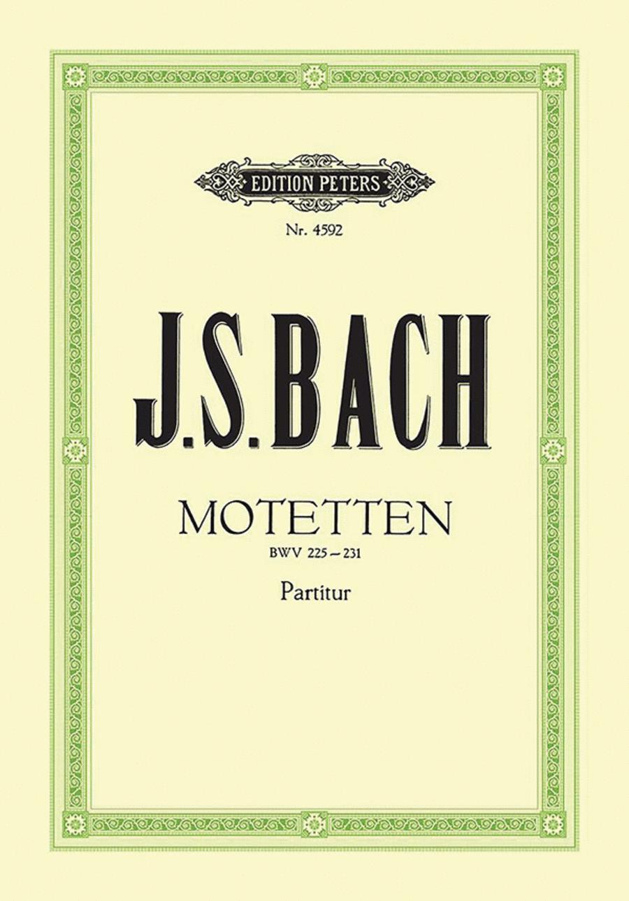 Motets BWV 225-230; Chorale 'Sei Lob und Preis'