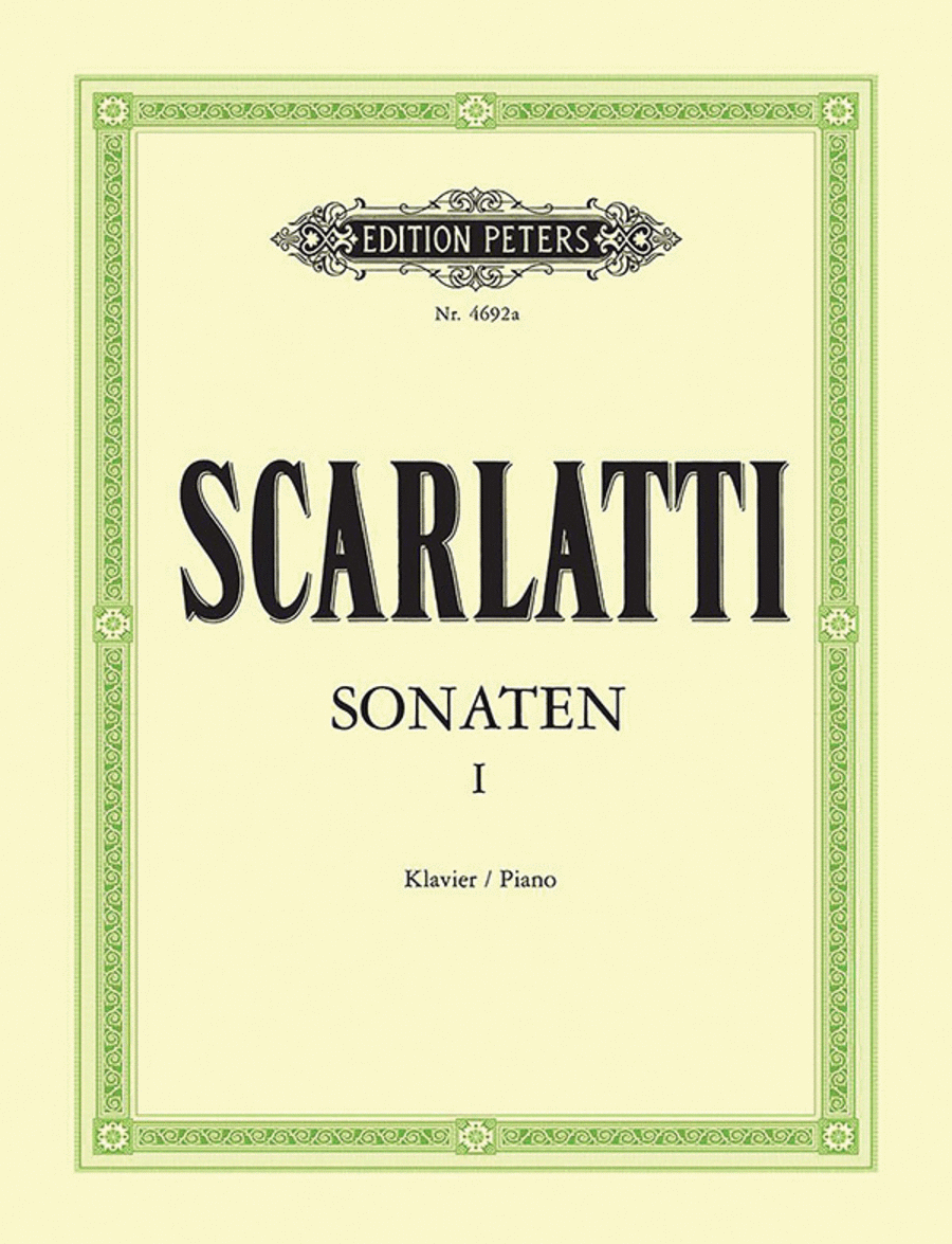 Piano Sonatas in 3 volumes - Volume 1