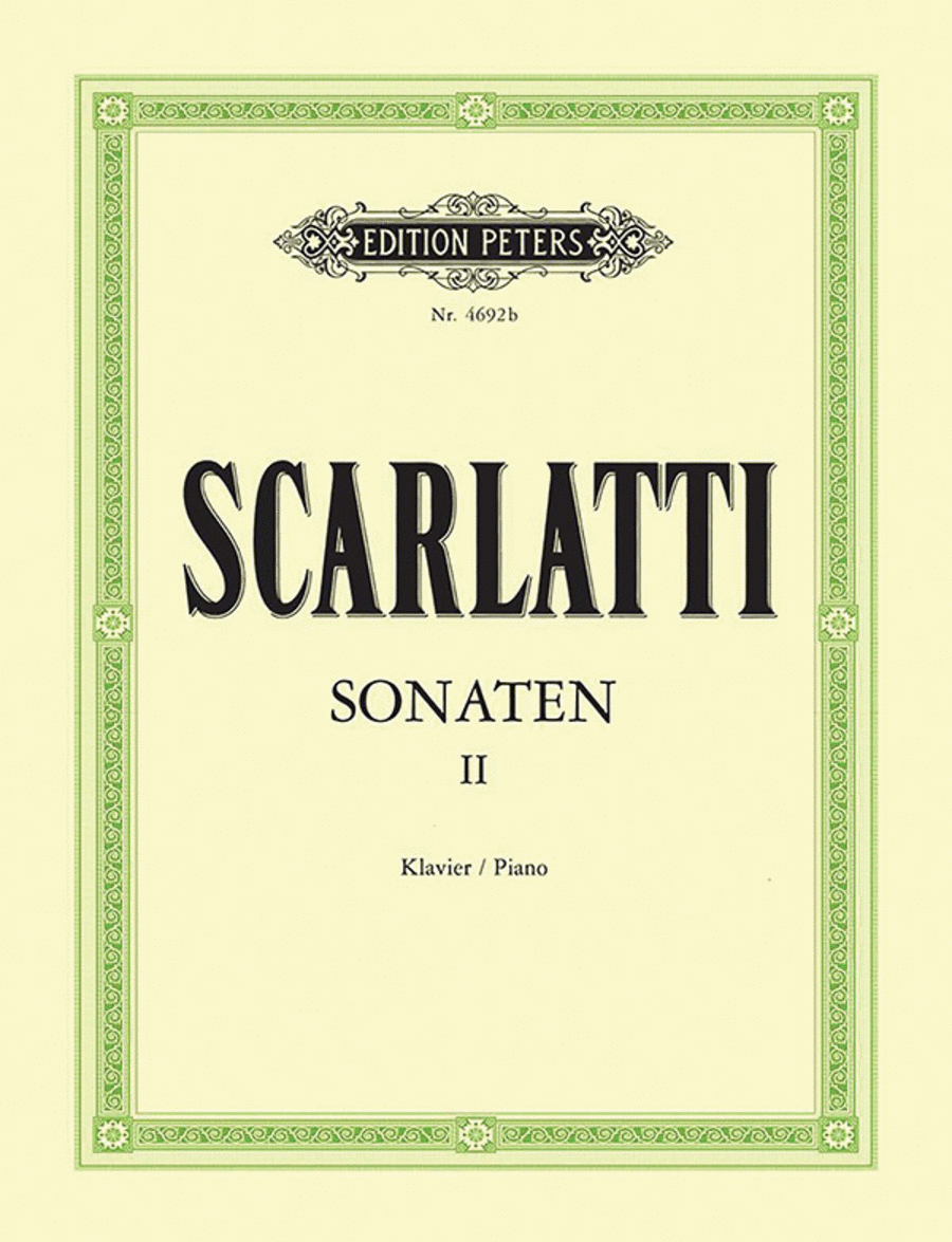 Piano Sonatas in 3 volumes - Volume 2