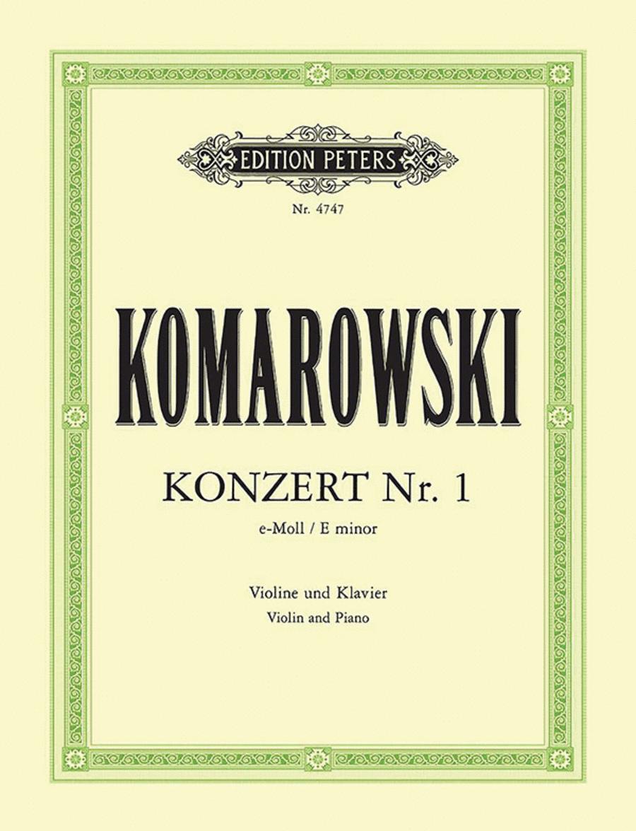 Violin Concerto No. 1 in E minor