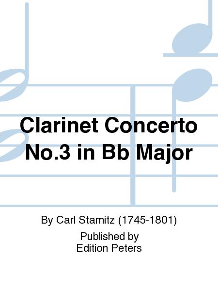 Clarinet Concerto No. 3 in Bb Major