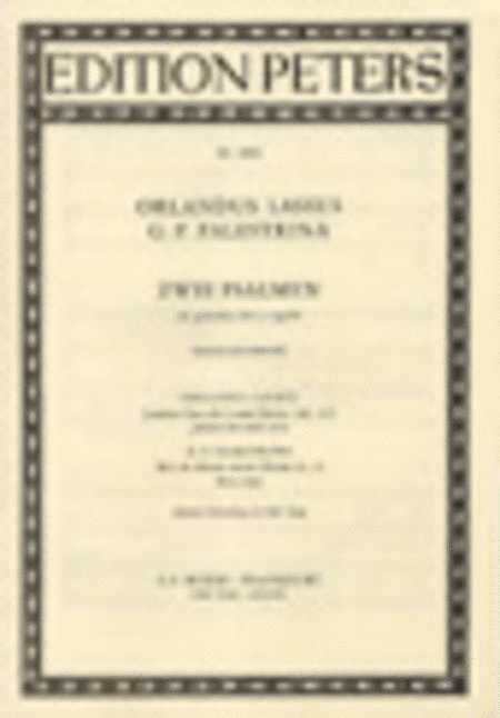 Two Works by Lassus and Palestrina