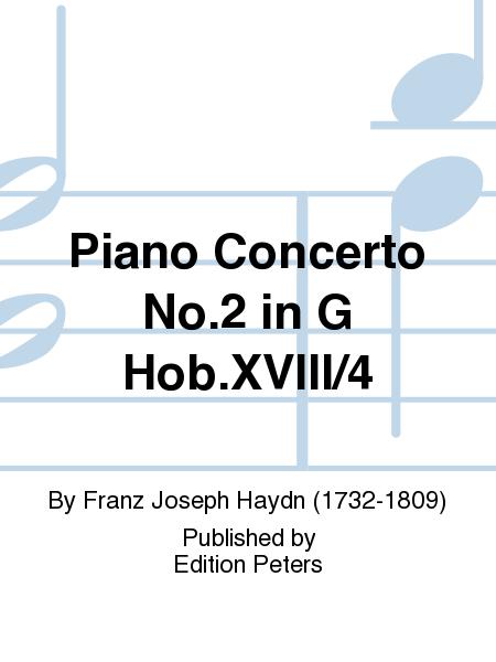 Piano Concerto No. 2 in G Hob.XVIII/4