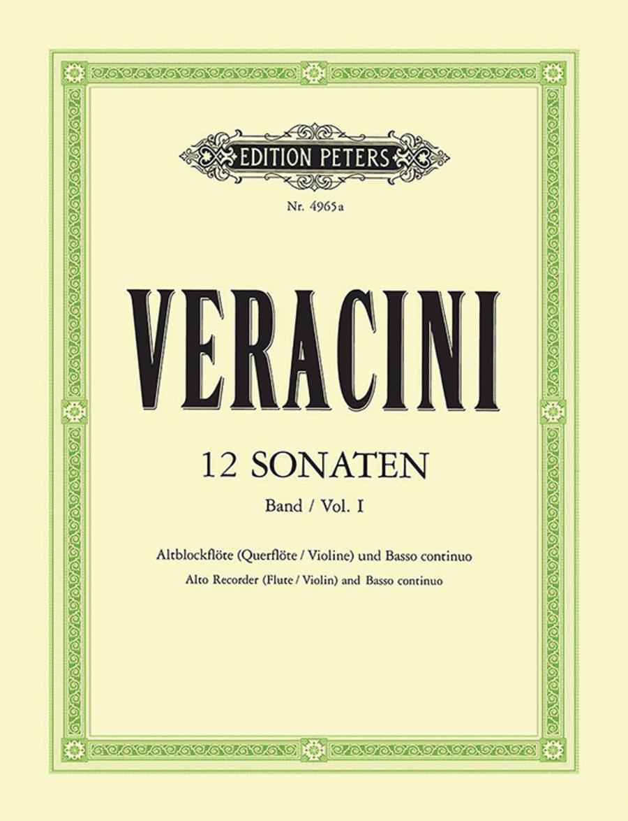 12 Sonatas Op.1 Vol.1
