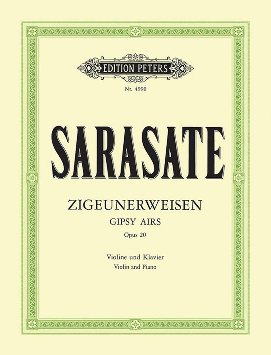 Gypsy Airs (Zigeunerweisen) Op.20