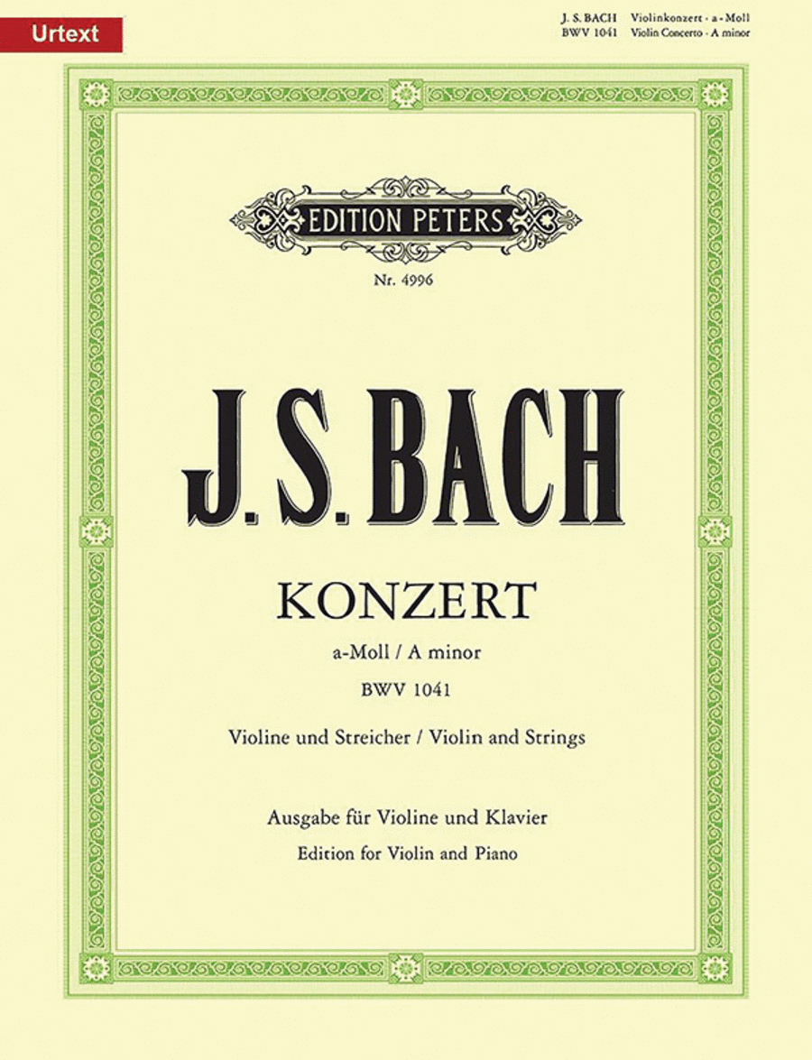 Concerto No. 1 in a minor BWV 1041