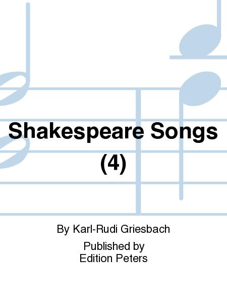 Shakespeare Songs (4)