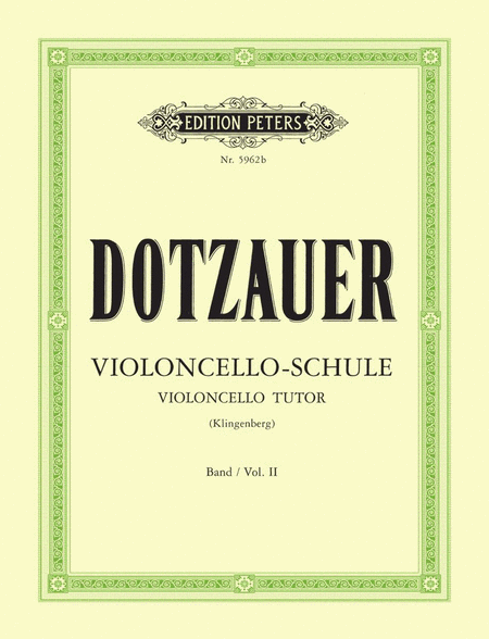 Violoncello Tutor Vol. 2