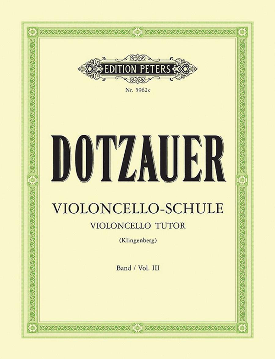Violoncello Tutor Vol. 3