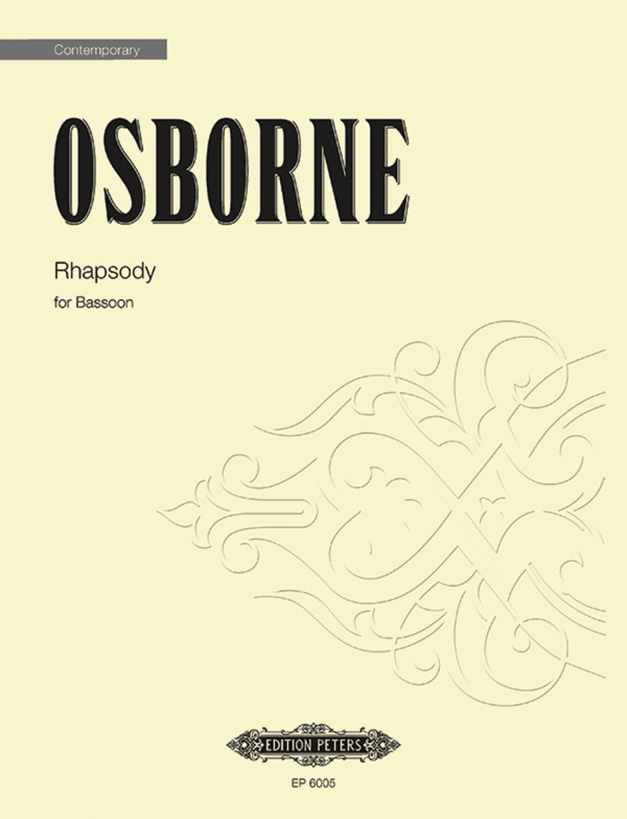 Rhapsody For Bassoon