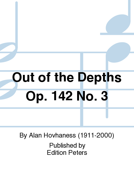 Out of the Depths Op. 142 No. 3