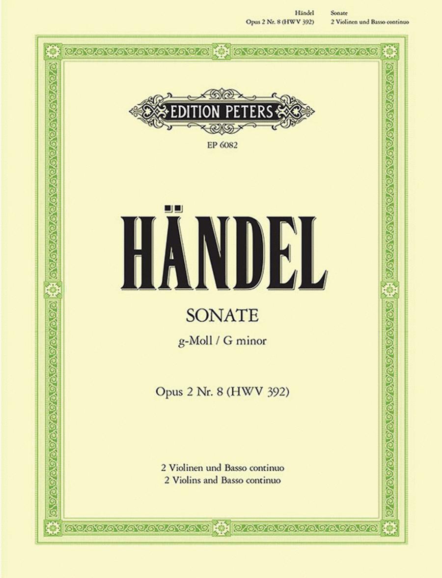 Trio Sonata in G Minor Op.2 No.8