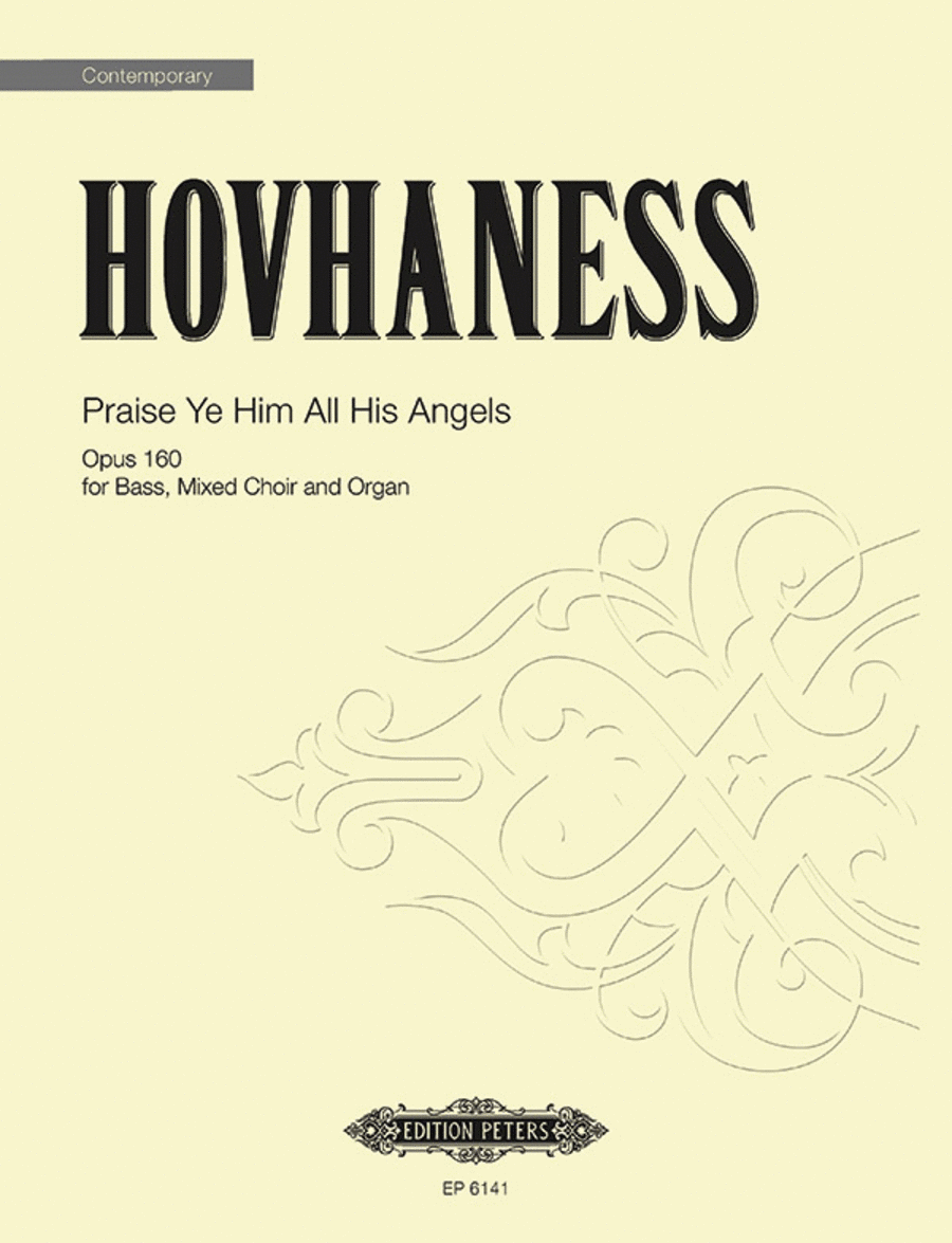 Praise Ye Him All His Angels Op. 160