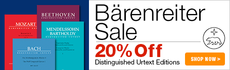 Baerenreiter Verlag Sale