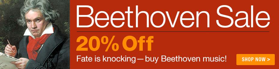Beethoven Sale - Save 20%!